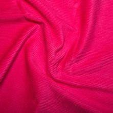 Ex Display Cerise Pink Cotton Corduroy Xtra Large Bean Bag